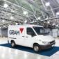 Waage zum Wiegen von Kleintransportern, Lieferwagen und Kastenwagen